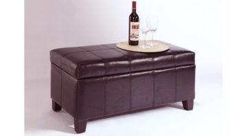 Bella Ottoman - Brown 1090 x 600