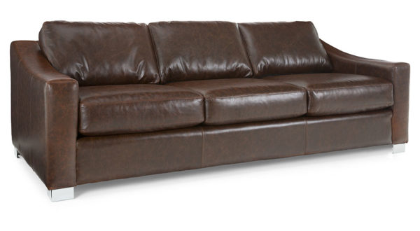 Revive Sofa - Brown Leather 1090 x600