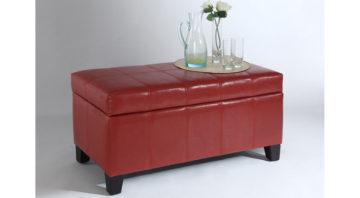 Bella Ottoman - Red