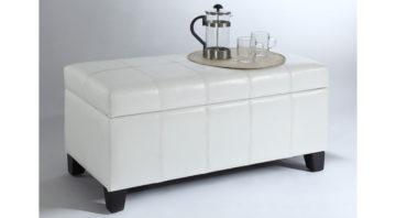Bella Ottoman - White