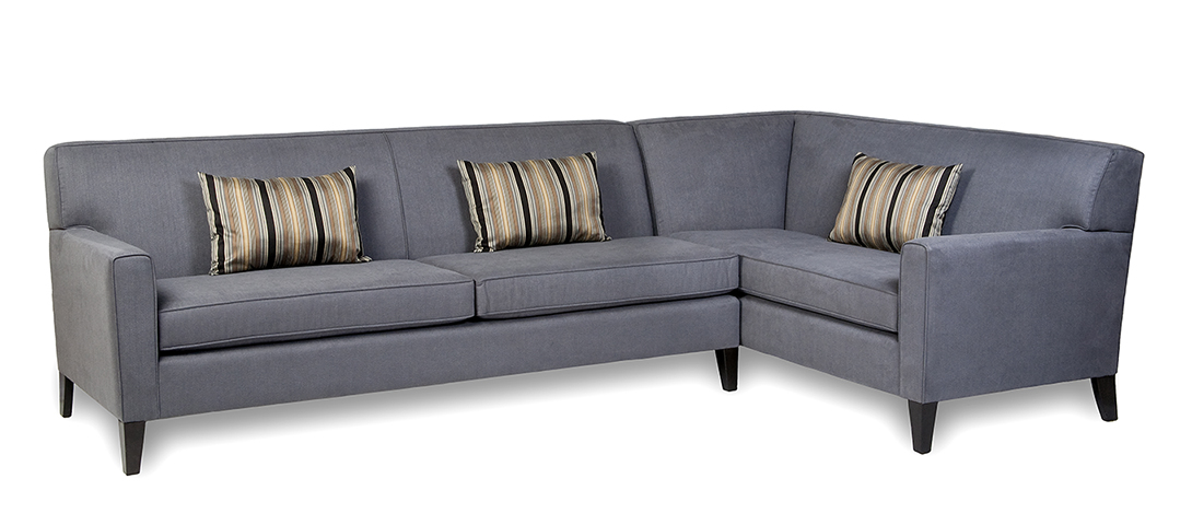 Condo sectional sofa jacob condo sized sectional sofa in for Sectional sofa condo size