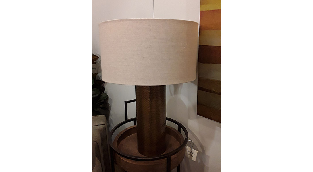 Hammered gold table lamp sofa so good for Hammered gold floor lamp