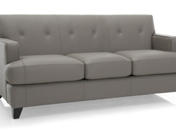 Leather Small Scale Sofas